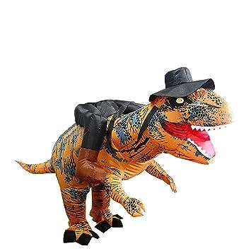 Amazon.com: Globeagle T-Rex - Vestido hinchable con sombrero ...