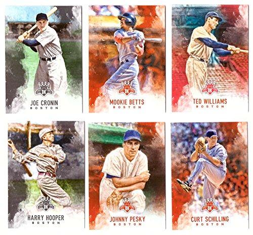 2017 Diamond Kings (1-100) - BOSTON RED SOX (Sox Diamond)