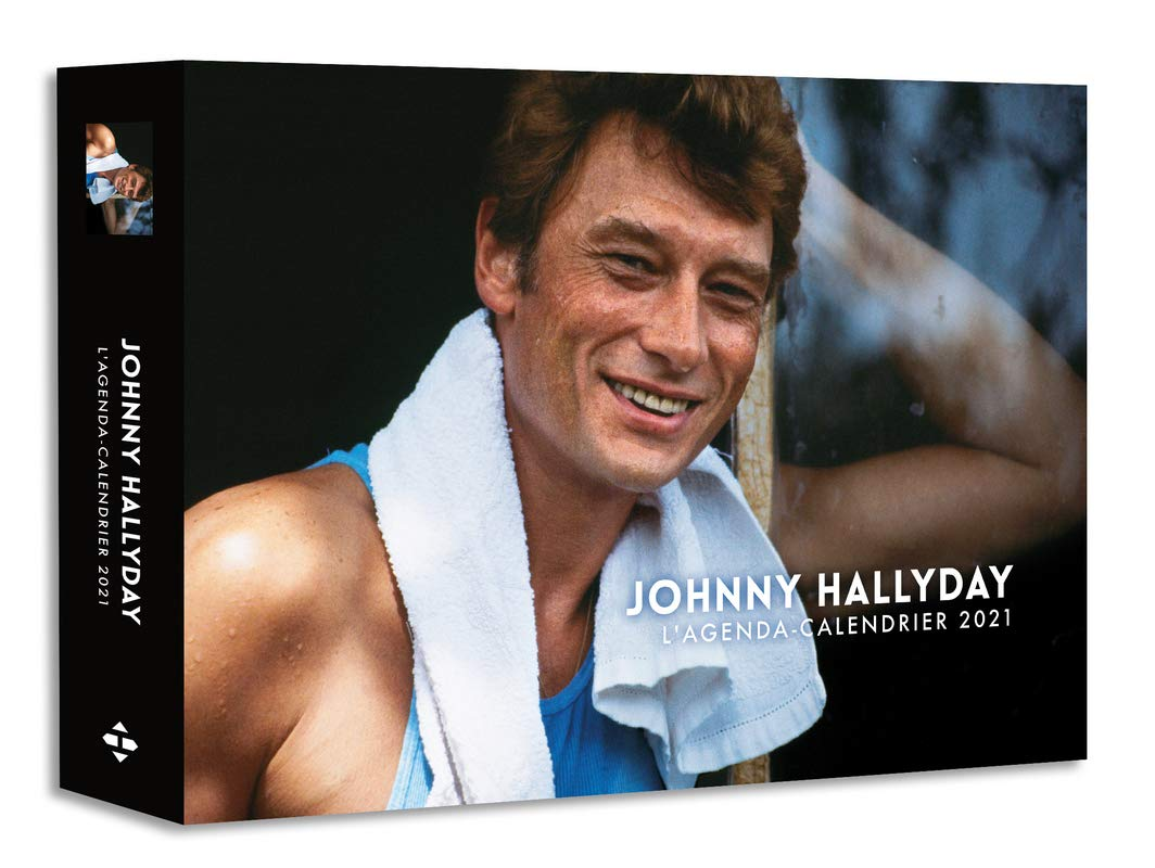 L'Agenda calendrier Johnny Hallyday 2021: Amazon.co.uk: Collectif