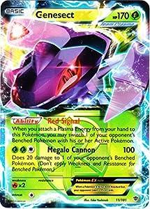 Amazon.com: Pokemon Card - Plasma Blast 11/101 - GENESECT EX (holo