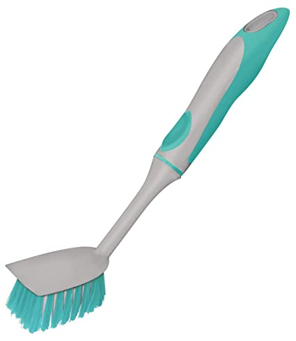 Spotzero By Milton Sink And Dish Brush (Aqual Green)