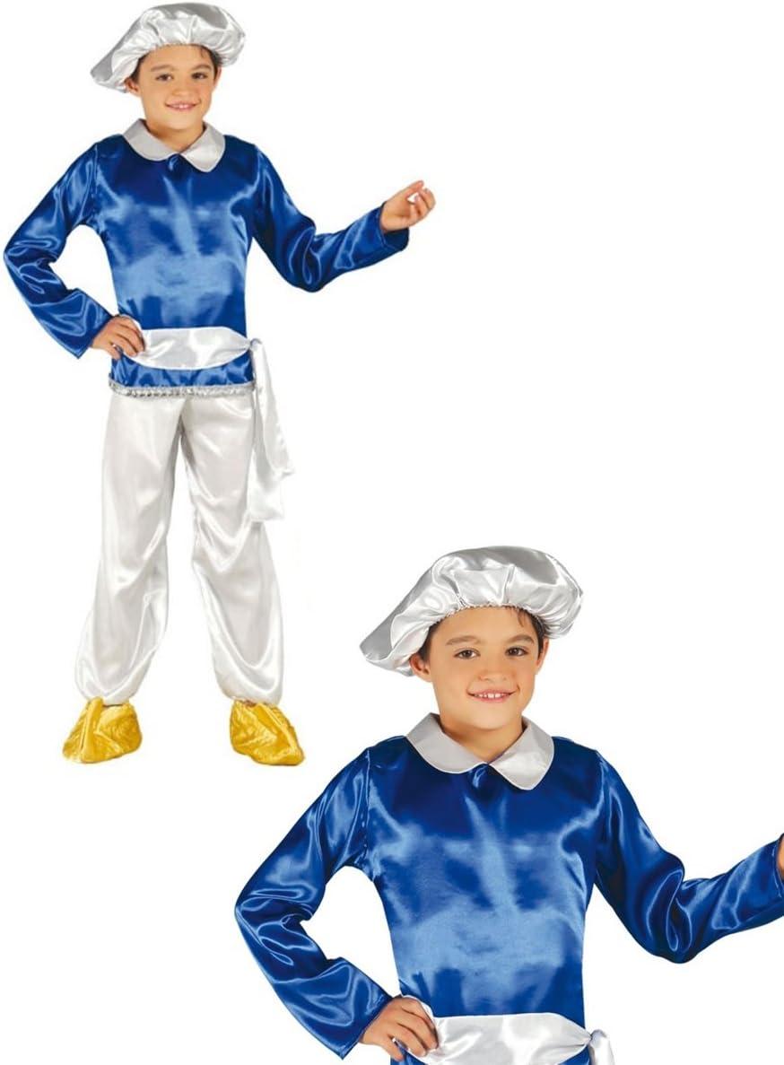 Disfraz de paje infantil rey blanco 5-6 años: Amazon.es: Juguetes ...