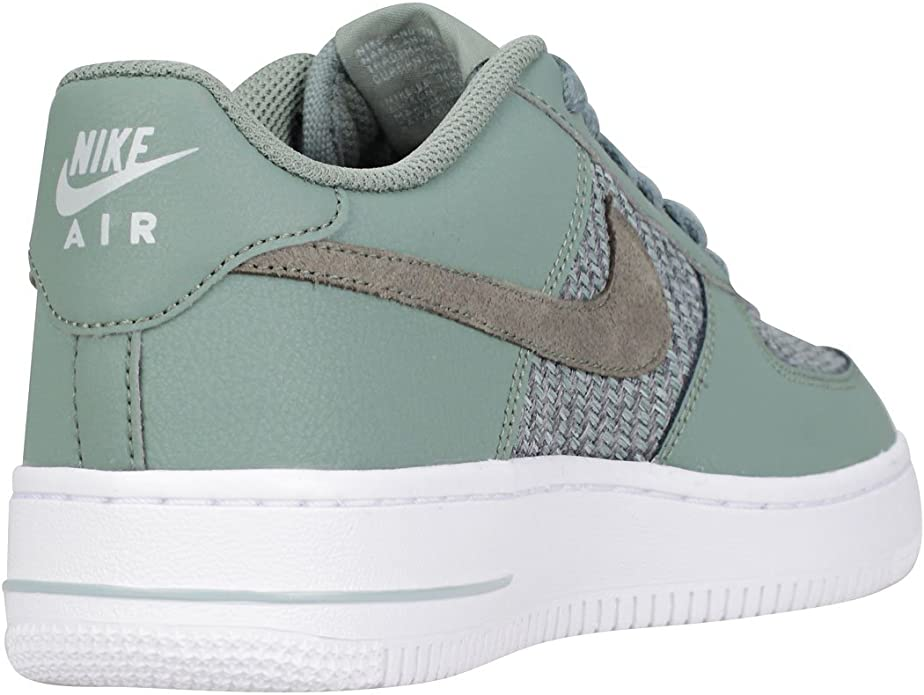 Nike Air Force 1 Lv8 Gs Kinder Sneaker, Grün DK Grey
