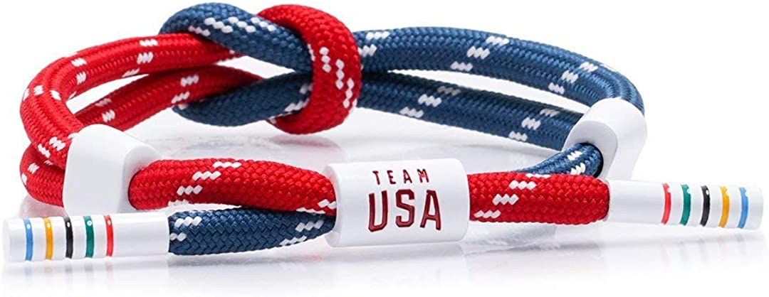 Rastaclat x Team USA Knotted Bracelet - Mastery - Medium/Large