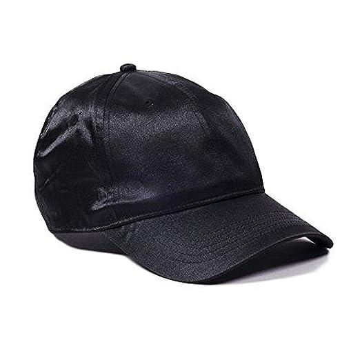 514c230f780 Infinity Headwear Ladies Black Satin Cap 6 Pack at Amazon Women s ...