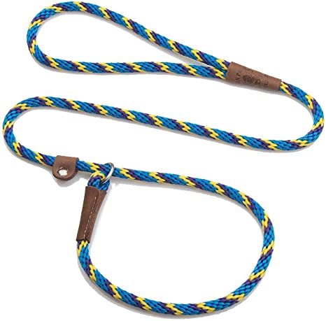 Mendota Pet Slip Leash Made in The USA Dog Lead and Collar Combo