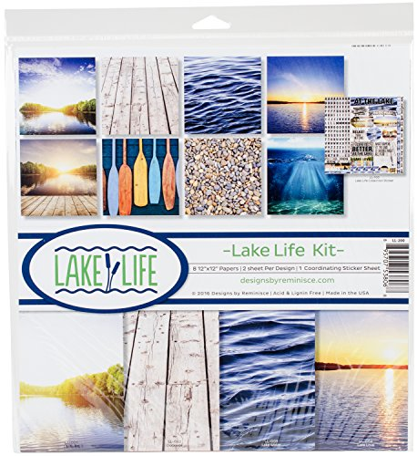 - Reminisce Lake Life Scrapbook Collection Kit