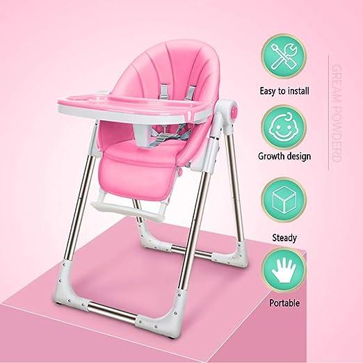 Trona Bebe,Silla de Comedor para bebé Silla de bebé portátil