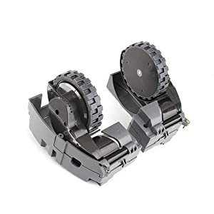 Awker-T Drive Wheel Module Pair,Right + Left Wheel for iRobot Roomba 500 600 700 800 900 Series