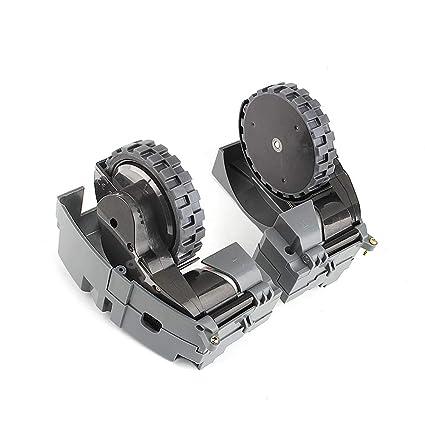 Robot Aspirador Rueda con Motor Izquierda y Derecha Rueda para iRobot Roomba 500 600 700 800