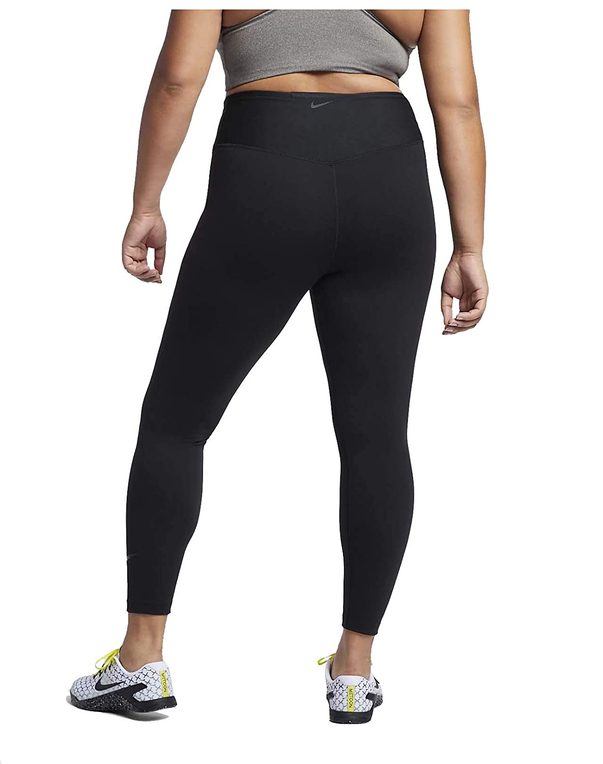 b1438425087 Amazon.com  Nike Women s Plus Power Sculpt High-Rise Training Tights Black  (3X)  Clothing