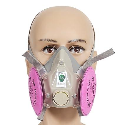 Máscara de Gas de Media Cara y Filtro 3M 2097 P100 – Trudsafe 6200 Máscara un