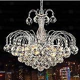 LightInTheBox Pendant Luxury Modern Crystal Living 3 Lights, Modern Home Ceiling Light Fixture Flush Mount, Pendant Light Chandeliers Lighting