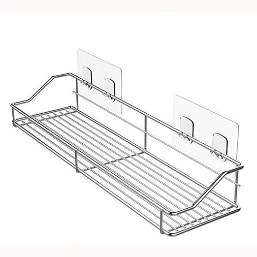 ASDWSX 304 - Soporte de pared para estante de baño de cocina ...