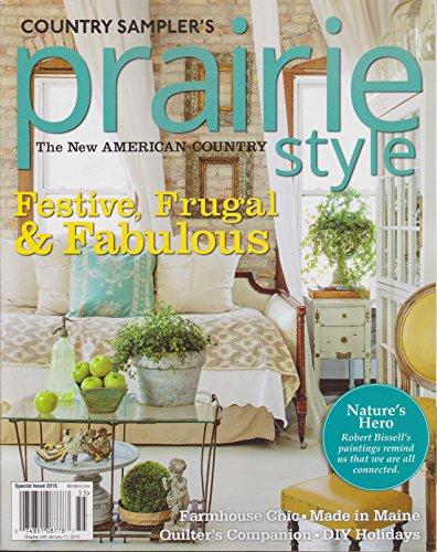 Country Sampler Prairie Style Magazine Winter 2015 For