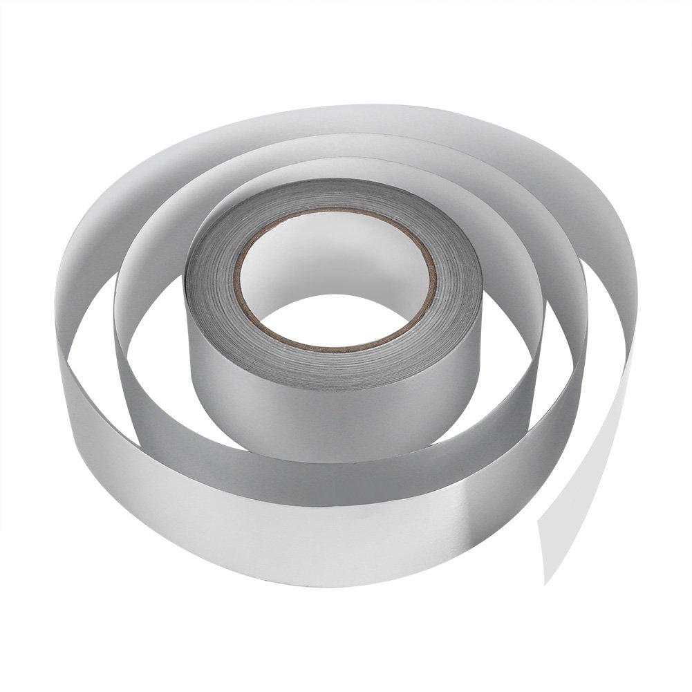 Zerodis 2'' x 164ft Silver Aluminium Foil Tape Adhesive Sealing Heat Shield Tape for Duct Metal Repair Insulation by Zerodis (Image #8)