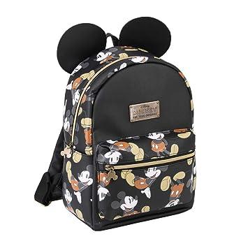 Karactermania Mickey Mouse True Mochila Tipo Casual, 31 cm, 13 litros, Negro: Amazon.es: Equipaje