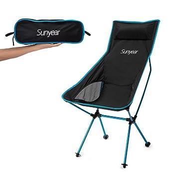 Amazon.com : Innovative Foldable Camp Chair, Stuck-slip-proof Feet ...