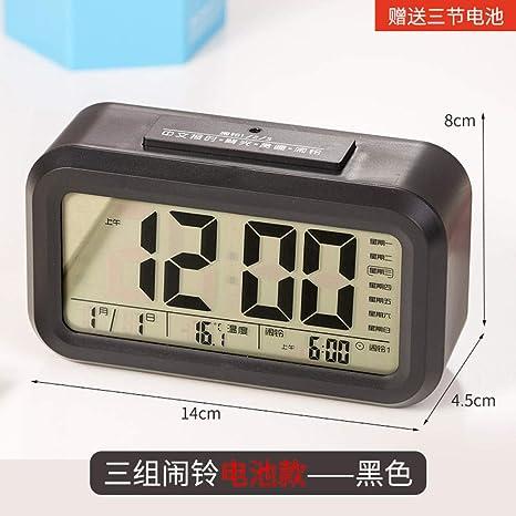 Inteligente estudiante de reloj de alarma electrónico con ...