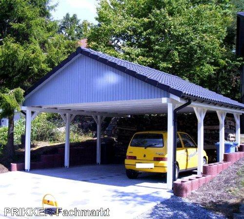 Spitzdachcarport - Satteldach, carport kosten, carport holz