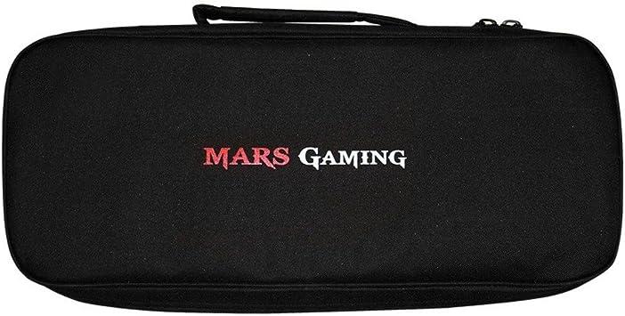 Mars Gaming MB1 - Bandolera gaming para periféricos (interior dividido en comppartimentos, correa acolchada y ajustable, bordes reforzados, ...