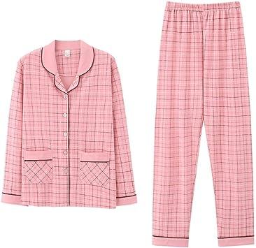Pijamas Enteros Par De Pijamas De Algodón Para Hombres, De ...