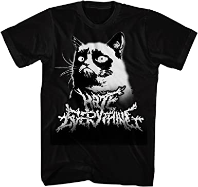CAT LADY GRUMPY CAT Cool T Shirt Funny Unisex Mens Ladies Top Fashion Joke GIft.