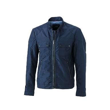 amp; Vêtements Accessoires Blouson Veste James Nicholson Biker Motard Et Homme Jn1094 Style d7qxaz