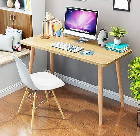 Ywdnza Mesa de Ordenador Nordic Computer Desk Desktop Table Home ...