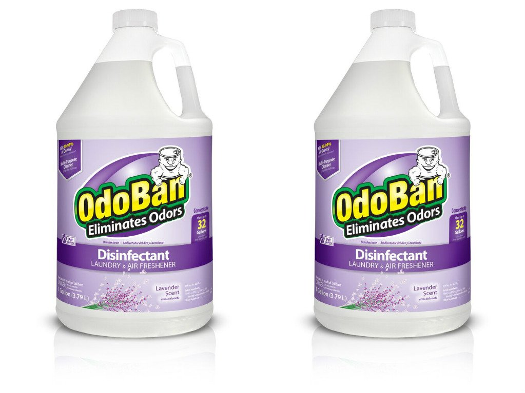 OdoBan Odor Eliminator and Disinfectant Concentrate, Lavender (2 Gal) by OdoBan (Image #1)