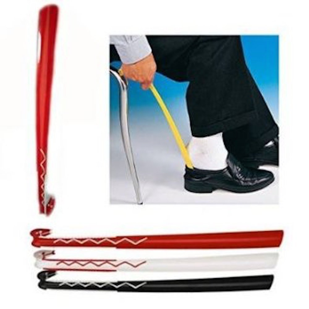 Ikea Calzascarpe Lungo 61 cm Nero/Bianco Trim Design –  Manico Lungo Confezione Originale