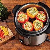 Power AirFryer XL Pressure Cooker, 10 Qt, stainless