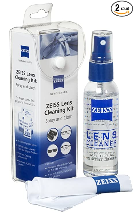 Review Zeiss Spray and Microfiber