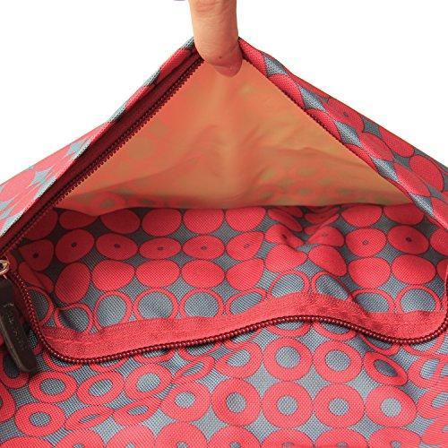 Damero Large Diaper Tote Satchel Bag with Drawstring Organizer Bag ... 99d656c04277b