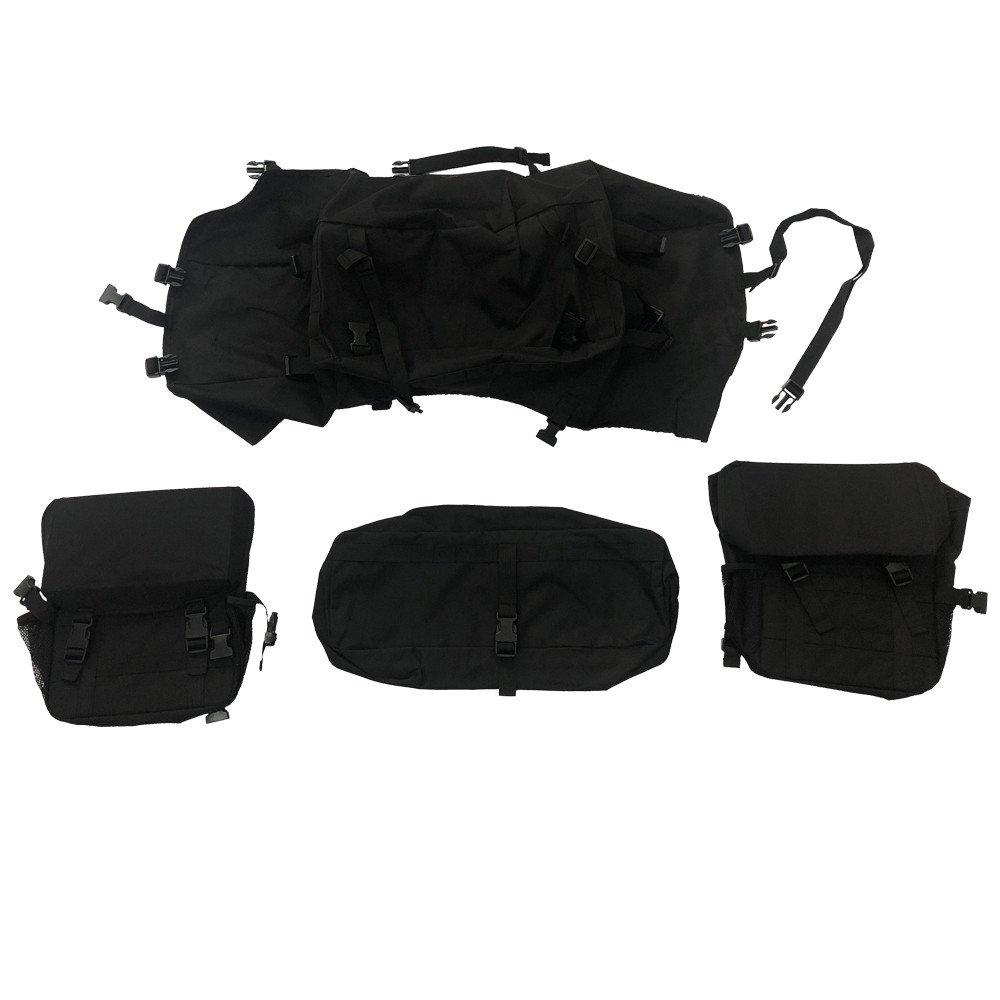 Spare Tire Multi-Storage Bag Lantsun Organiser Foldable Holder Cargo Bag for Jeep Wrangler JK Unlimited 07-17(J309) Lantsun Group