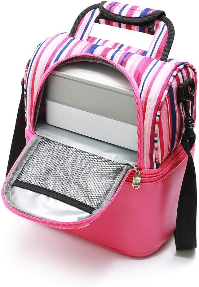 Lomelomme Sacs Isotherme Repas Lunch Box Bag Portable Sac /à D/éjeuner Fra/îcheur de Pique-Nique pour /École//Travail//Familie//Hommes//Femmes//Fille