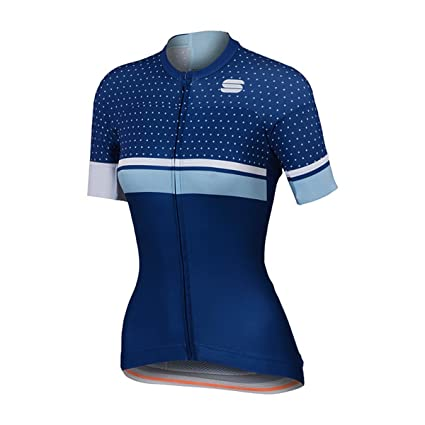 edccd8bff Sportful Women s Diva Short Sleeve Cycling Jersey - A1101891 (Blue  Twilight White Cerulean