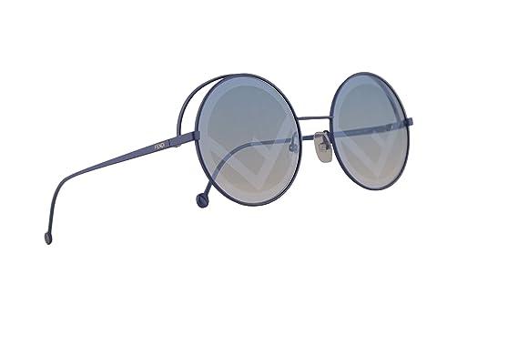 Amazon.com: Fendi FF0343/S - Gafas de sol, color azul y ...
