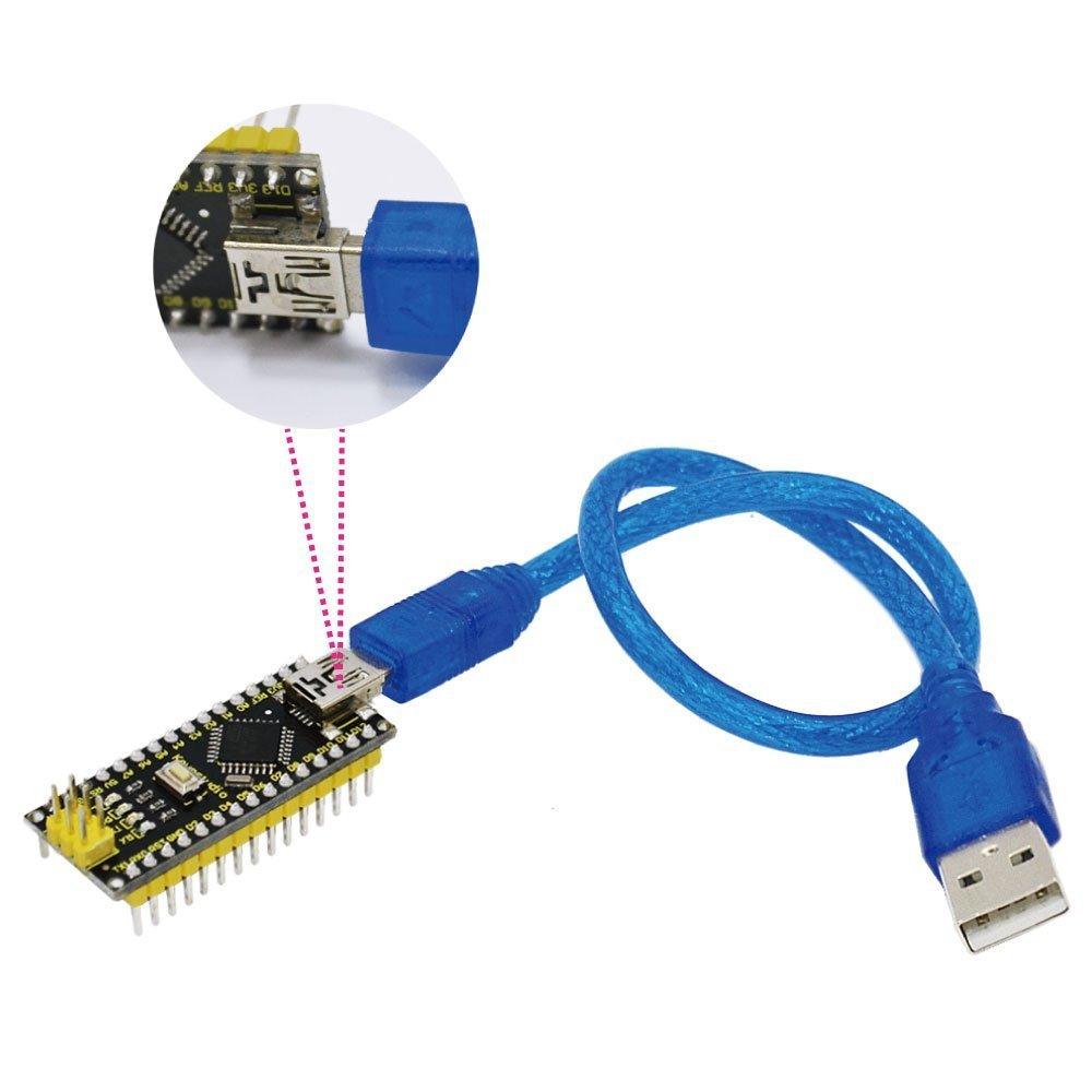 KEYESTUDIO Mega 2560 R3 Board USB Cable