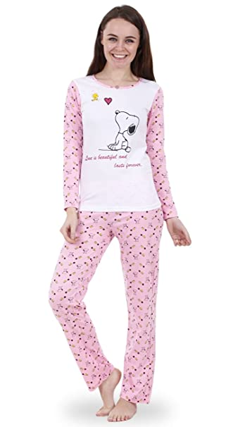Hot-fashion - Pijama - para mujer Multicolor Love is beautiful L