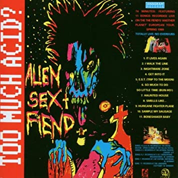 Free mp3s of alien sex fiend