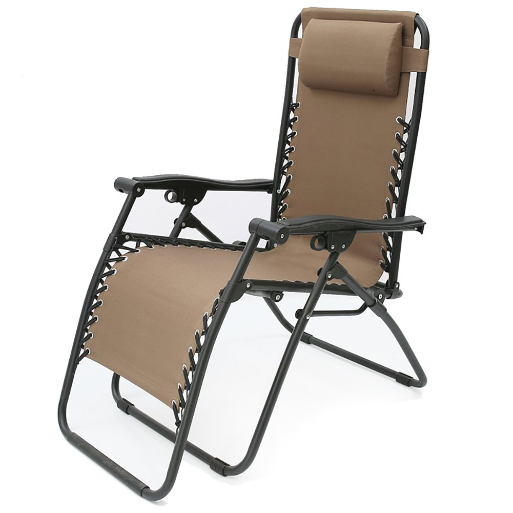 Amazon.com : Recliners Fold Chair Portable Summer Bed Office ...