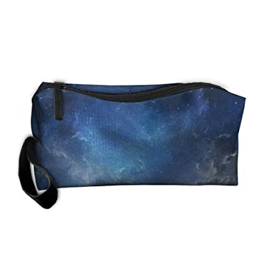 851b2de3fd Vcvddsmy Stars Sky Cosmetic Bag Travel Makeup Bag Organizer Beauty Bag  Small Pouch