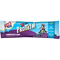 Clif Kid ZBAR - Protein Granola Bars - Chocolate Chip (1.27 Ounce Gluten Free Bars, Lunch Box Snacks, 10 Count)
