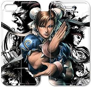 Iamchunli J6Y16X8 iPhone 6 6S más la caja de la caja de cuero funda N3C53G3 teléfono del tirón 5.5 funda 3D Único