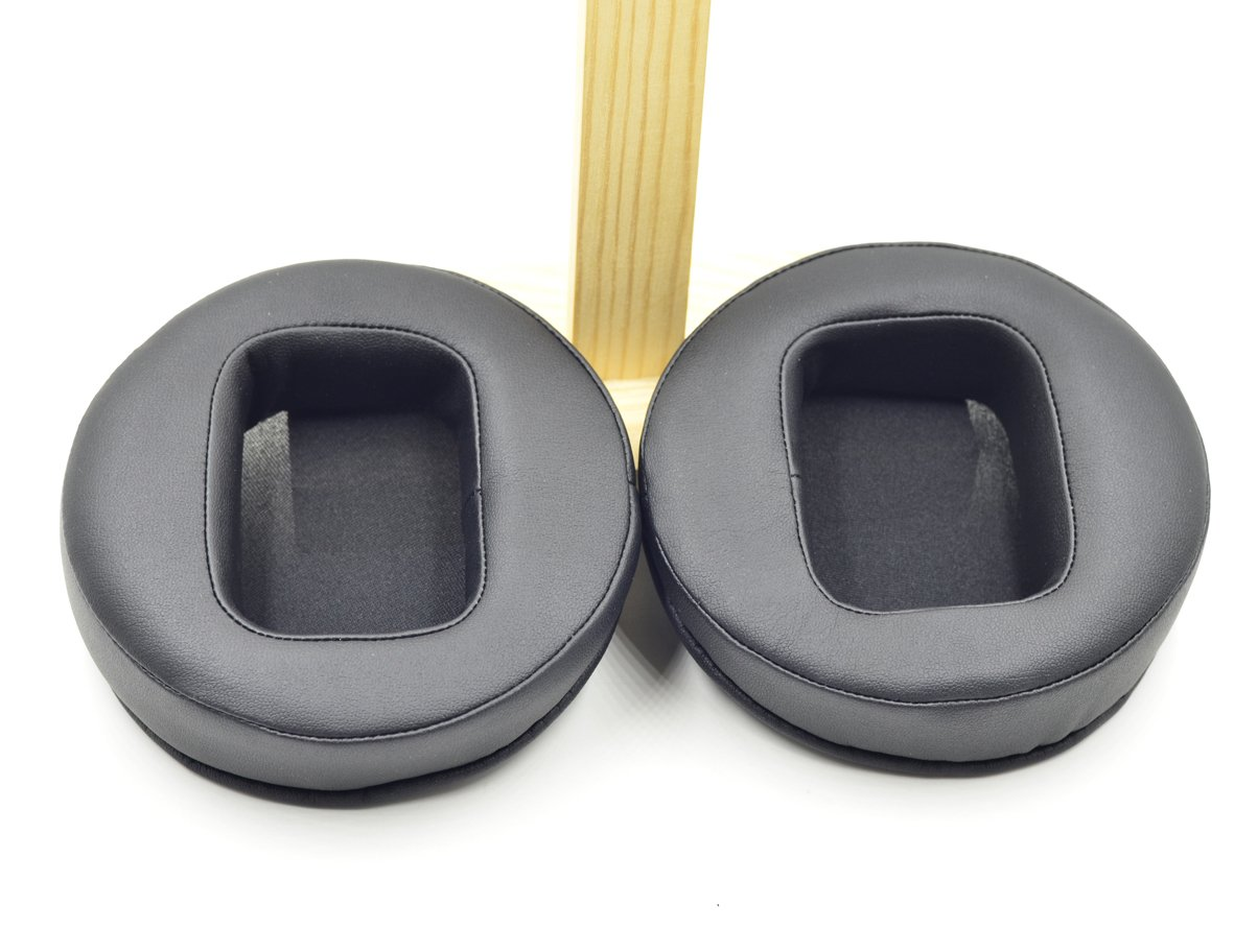 "115mm Leather ear pad cushion pillow seal for headphones 4.5/"" 4 1//2 inch 11.5cm"