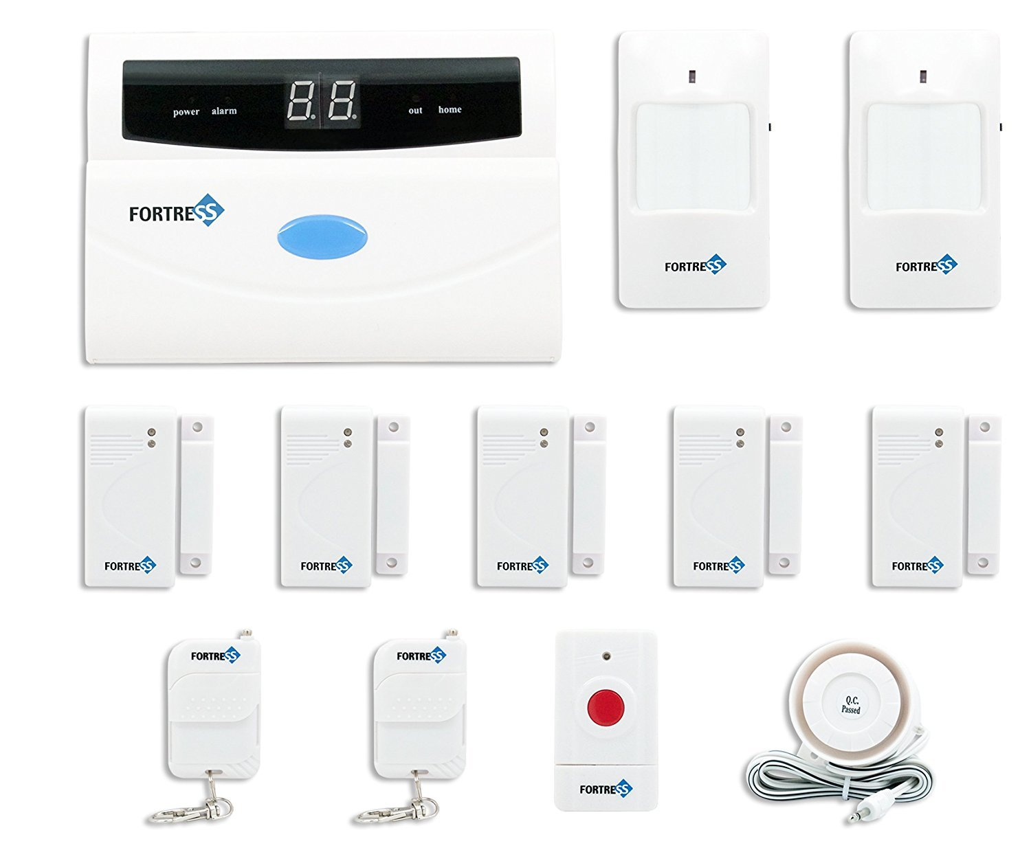 top 10 best wireless home security alarm systems 2018 2019 on flipboard by xayuk. Black Bedroom Furniture Sets. Home Design Ideas