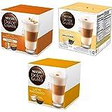 NESCAFÉ Dolce Gusto Coffee Capsules Latte Variety Pack - Original Latte Machiatto, Vanilla Latte Machiatto and Carmale…
