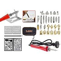 35PC 30W Wood Burning Pen Set Electric Soldering Iron Kit Iron Burner Hobby Kit
