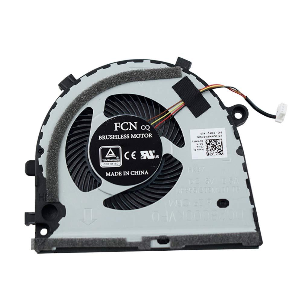 Cooler para Dell inspiron Game G5 15 5587 G3 G3-3579 3779 FKB7 0GWMFV 4-Pins (GPU)